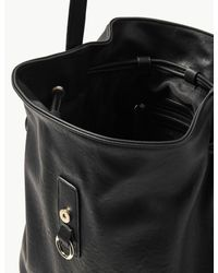 Marks & Spencer - Black Faux Leather Bucket Cross Body Bag - Lyst