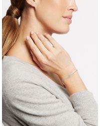 Marks & Spencer   Multicolor Pavé Ball Plaited Bracelet Made With Swarovski® Elements   Lyst