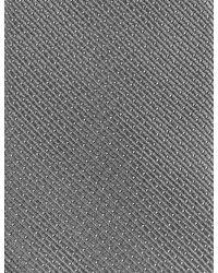 Marks & Spencer | Gray Skinny Fit Pindot Tie for Men | Lyst