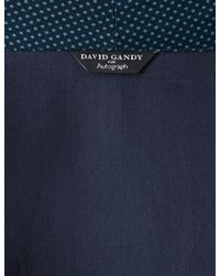 Marks & Spencer - Blue Supima® Cotton Printed Dressing Gown for Men - Lyst