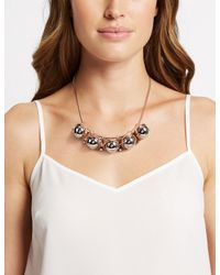 Marks & Spencer - Multicolor Ball Dropper Necklace - Lyst