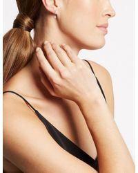 Marks & Spencer - Multicolor Platinum Plated Stick Diamanté Drop Earrings - Lyst