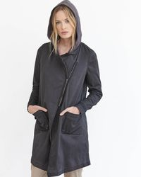 Marrakech | Black Tish Hooded Utility Jacket | Lyst