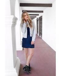 Marrakech - Blue Hartlee Skirt - Lyst