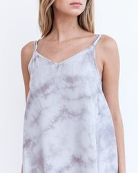 Marrakech - Gray Seychelles Slip Dress - Lyst