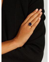 Jade Jagger - Blue Tanzanite & Yellow-gold Ring - Lyst
