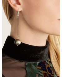 Isabel Marant - Metallic Ex Voto Sphere-drop Earrings - Lyst