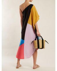 Mara Hoffman - Multicolor Noa Chapiteau Print One Shoulder Cotton Dress - Lyst