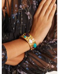 Sylvia Toledano - Multicolor Byzance Small Gold-plated Cuff - Lyst