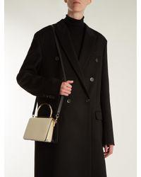 Ferragamo - Black Mina Mini Leather Shoulder Bag - Lyst