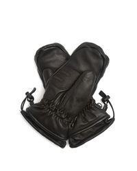 Lacroix - Black Lx Initial Leather Ski Mittens - Lyst