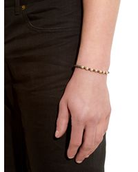 Luis Morais - Black Yellow-gold And Hematite Bead Bracelet for Men - Lyst
