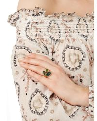 Pippa Small | Metallic Tourmaline & Yellow-gold Ring | Lyst
