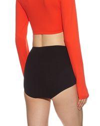 Orlebar Brown - Black Leyla High-waist Bikini Briefs - Lyst