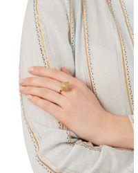 Jade Jagger - Yellow Diamond & Gold-plated Disco Ball Ring - Lyst