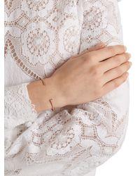 Jacquie Aiche - Pink Diamond & Rose-gold Cuff - Lyst