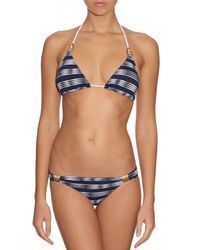 Heidi Klein | Blue Carolina Triangle Bikini Top | Lyst