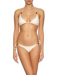 Heidi Klein | Natural Tahiti Tie-side Bikini Briefs | Lyst
