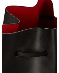Mansur Gavriel - Black Leather Bucket Bag - Lyst