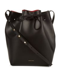Mansur Gavriel - Black Leather Bucket Bag - Lyst