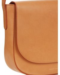 Mansur Gavriel - Brown Cross-body Leather Satchel Bag - Lyst
