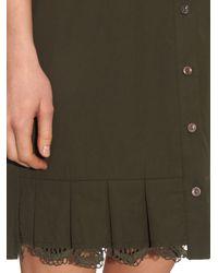 By Walid - Natural Nat Cotton Shirt Dress - Lyst