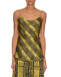 Duro Olowu - Multicolor Harlem Deco-print Silk Cami Top - Lyst
