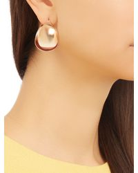 Charlotte Chesnais - Metallic Petal Silver And Gold-plated Earrings - Lyst
