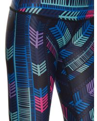 Mara Hoffman - Multicolor Voyager-print Performance Leggings - Lyst