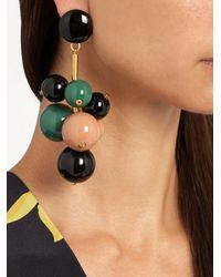 Marni - Green Ball-drop Clip-on Earrings - Lyst