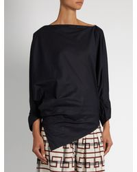Vivienne Westwood Anglomania - Blue Infinity Cotton Blouse - Lyst