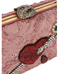 Gucci - Multicolor Broadway Crystal-embellished Clutch - Lyst
