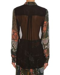 Preen Line - Multicolor Beth Snake-print Shirt - Lyst