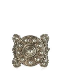 Etro | Metallic Studded Medallion Cuff | Lyst