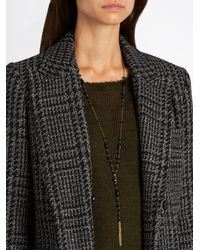 Isabel Marant - Black Jacques Beaded Necklace - Lyst