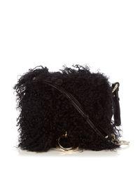 Diane von Furstenberg | Black Love Power Cross-body Bag | Lyst