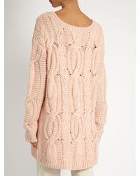 Tabula Rasa | Pink Arin Hand-knit Alpaca-wool Sweater | Lyst