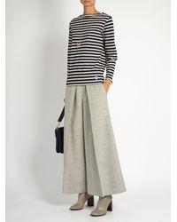 Orcival - Blue Breton-striped Cotton Top - Lyst