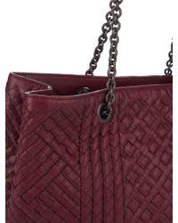Bottega Veneta | Multicolor Intrecciato Embroidered Leather Bag | Lyst