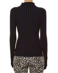 Altuzarra | Black Bessie Long-sleeved Roll-neck Jersey Top | Lyst