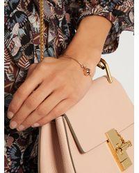 Aurelie Bidermann - Multicolor Bell Rose-gold Bracelet - Lyst