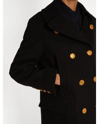 Golden Goose Deluxe Brand - Blue Johanna Double-breasted Wool Coat - Lyst