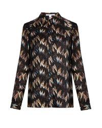 Diane von Furstenberg   Multicolor Chrissie Shirt   Lyst