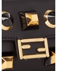Fendi - Multicolor Micro Baguette Embellished Cross-body Bag - Lyst