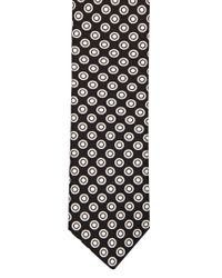 Dolce & Gabbana - Multicolor Circle-print Silk Tie for Men - Lyst