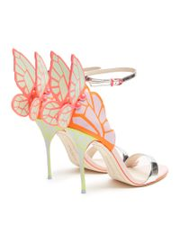 Sophia Webster - Multicolor Chiara Metallic Patent-leather Sandals - Lyst
