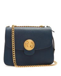 Chloé | Blue Mily Medium Leather Shoulder Bag | Lyst