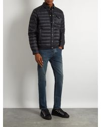 Moncler - Blue Christopher Quilted Down Jacket for Men - Lyst