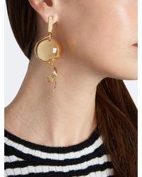 Loewe - Metallic Fruit Gold-plated Earring - Lyst