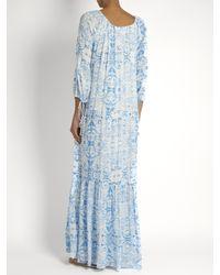 Athena Procopiou - Blue The Midsummer's Sky Maxi Dress - Lyst